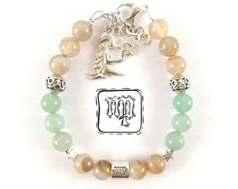 Virgo-Virgo-Virgo Stone Bracelet-Virgo Birthstone-Virgo Zodiac Jewelry-Bracelet-Birthday gift-Birthday ideas