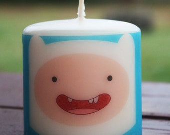 Adventure Time Finn the Human Candle Medium Unscented