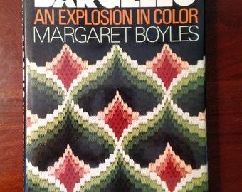 Bargello An Explosion in Color by Margaret Boyles/ Vintage Needlecraft Book/ 1974/ Vintage Craft Book/ Needlepoint