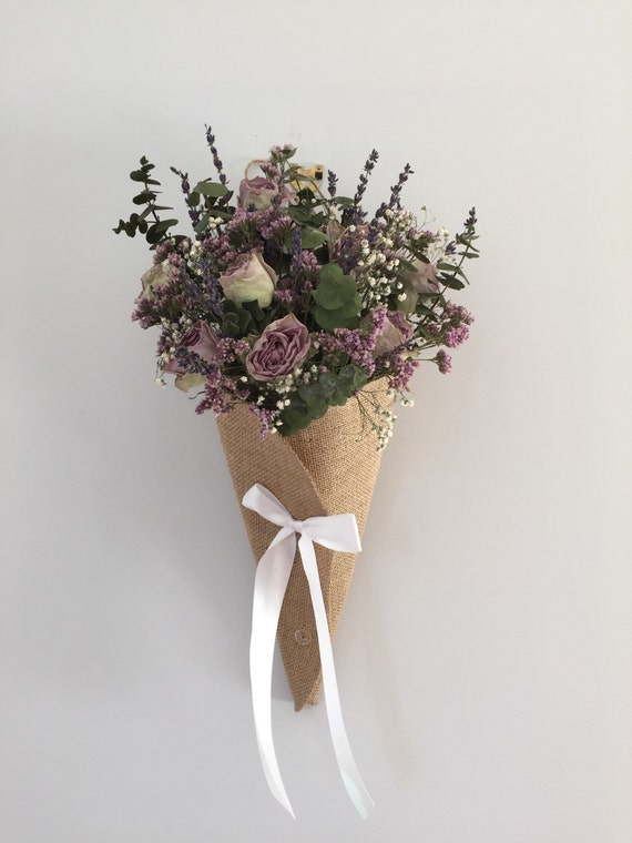 Items Similar To Dried Flower Arrangement Wall Hanging