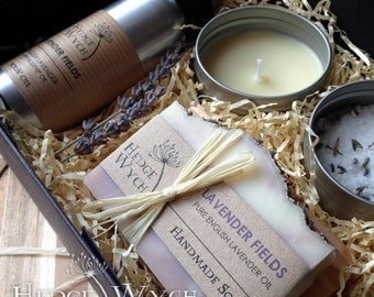 Relaxing Spa Gift Box - Lavender Fields