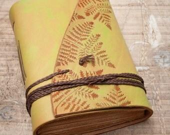 Leather Journal, Handbound Journal