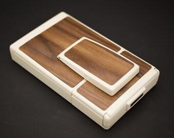 Polaroid SX-70 Model 2  - Custom Cut Wood Replacement Cover