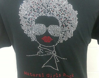 Black African American Women T-shirt,100%cotton.Business women in corporate america