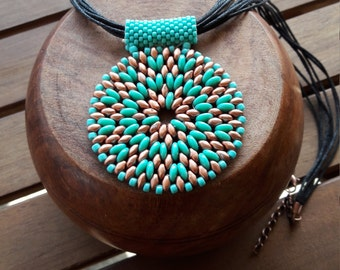 "Necklace ""Turquoise"""