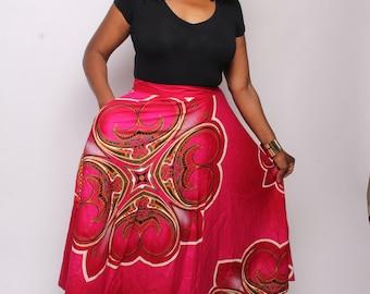 Florry Ankara Skirt
