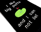 Golf Towel, Funny Golf Towel, I Like Big Putts, Golfer Gift, Premium Cotton, Funny Golf Gift, Custom Golf, Golf Gift for Him, Boss Gift