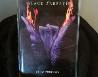 1994 black sabbath cross purposes cassette