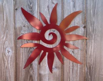 Tribal Sun (Steel)