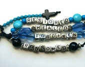 Restored, ransomed, healed and forgiven keychain