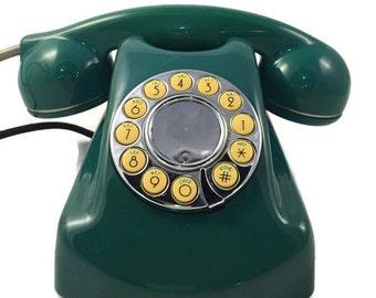 WWTTON Gotham Green Rotary Phone