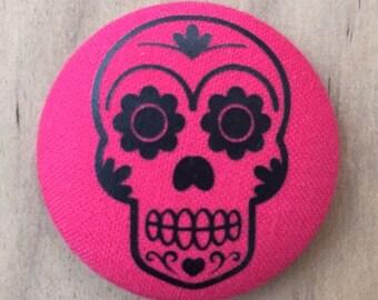 Sugar Skull - Halloween  - Button Add on