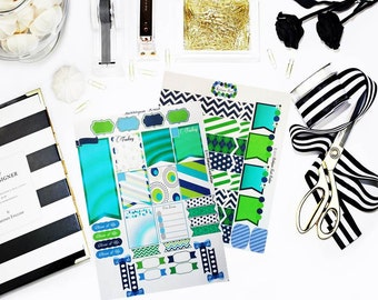 BGKB 'Navy Michelle Two-Weekly Designer Planning Kit