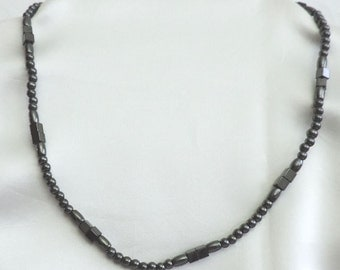 FREE SHIPPING!  Genuine Hematite Necklace