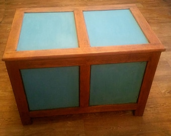 Upcycled Refurbished Toy Chest