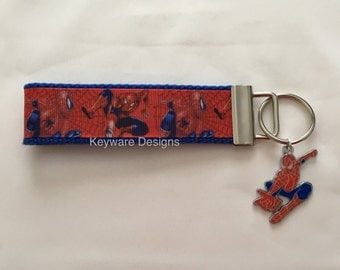 Spiderman Key Fob Keychain