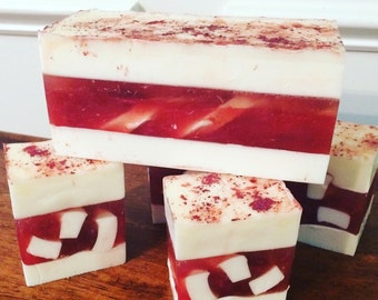 Natural Soap - Strawberries and Cream
