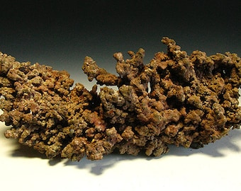 Rare A+ Bisbee Copper Queen Arizona Crystallized Native Copper Mineral Specimen - 118g