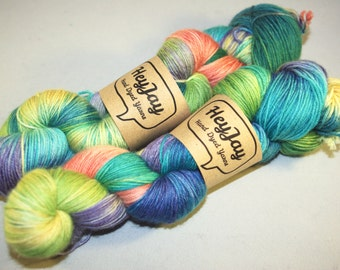 Sock Yarn 100% Superwash Merino Circus