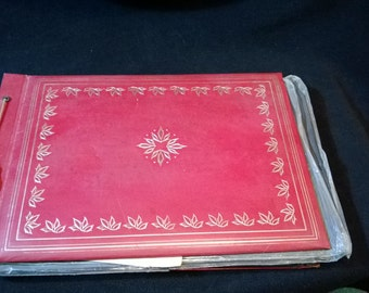 Old Style Photo Album, unused with new pages