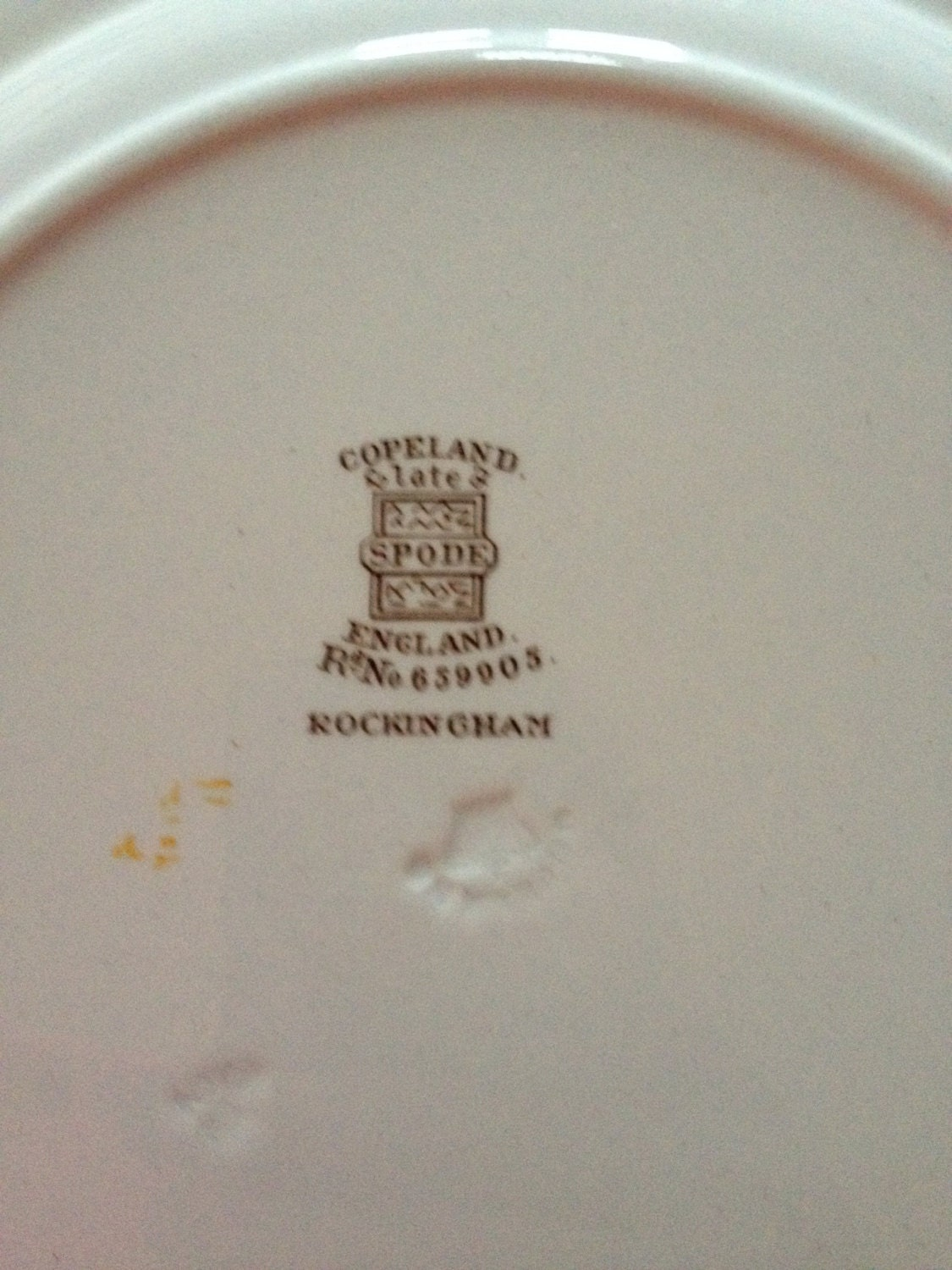 Copeland Spode Rockingham Dinner Plate 9 IN/ 22cm659905 Exclusive to Harrods - In : harrods dinner plates - pezcame.com