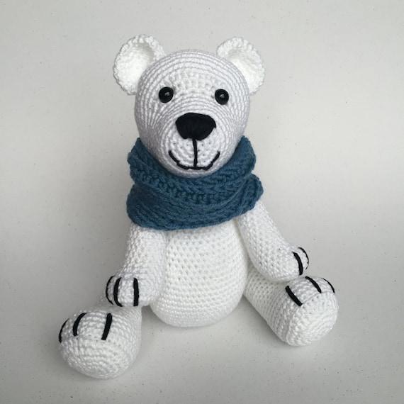 CROCHET PATTERN Polar Bear By KNUFL On Etsy