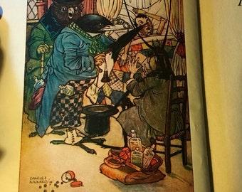Vintage children's book C. Collodi Pinocchio 18 value for 15USD FREE Ship