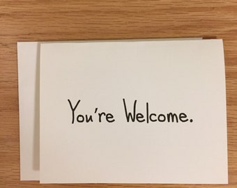 Funny card, just because card