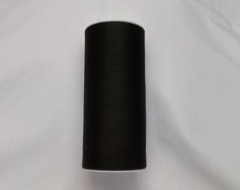 Black Shimmer Tulle, Black Tulle Roll, Black Tulle 25 yards, 6 inch tulle, 6 inch tulle roll, Tulle, Tulle Fabric, Tutu Tulle, Wedding Tulle
