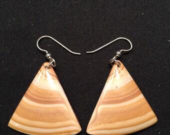 Candy Rock Rhyolite Earrings