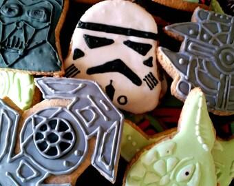 Star wars cookies (12 cookies)