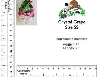 Crystal Grape Size SS