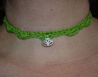 Chain with Lotus