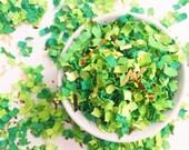 Confetti | Green Light Confetti | Confetti Mix | Green Confetti | Spring Confetti | Garden | Party Decor | Brunch | Piñata Confetti