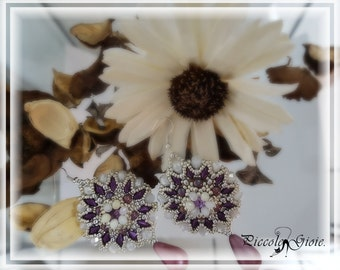 "Tutorial photo Earrings "" Calliope """