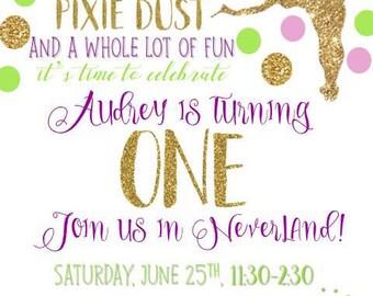 Fairy Birthday Invite