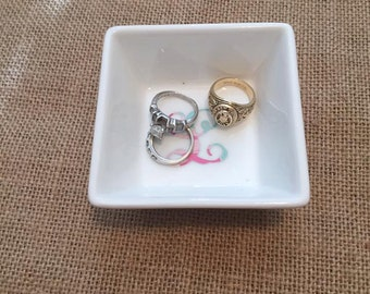 Ring Dishes, ring holder, jewelry dish,