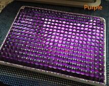 Hand-Made Luxury Bling Fashion PU Leather Cover For Ipad Air2/Air, Ipad2/3/4, Mini Ipad1/2/3/4