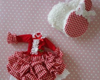 Strawberry Dream Dress Set * Blythe * Pullip *