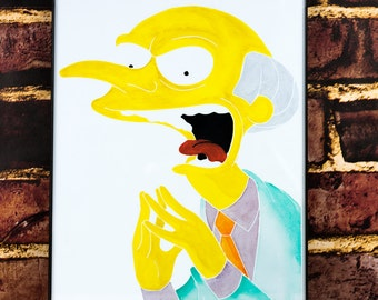 The Simpons: Mr Burns Fanart