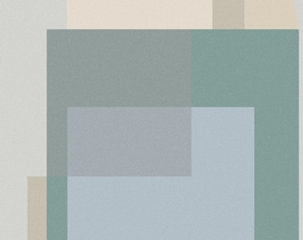 Modern Art Print Abstract Wall neutral earth tones with a definite coastal vibe  Decorative graphic Chic art print Digital Download