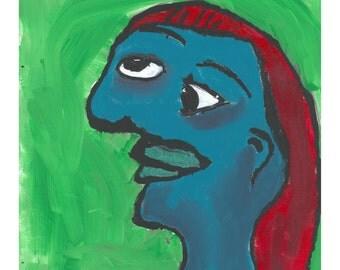 Portrait of Woman - Original