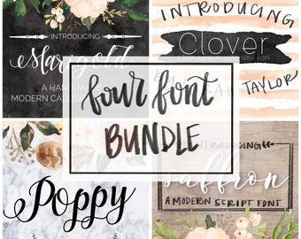 Four Font Bundle
