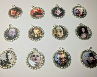 Horror Character Necklaces / Horror Gifts