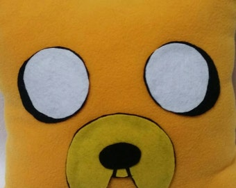 Jake adventure time pillow