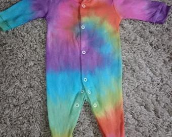 Tie Dye new baby set