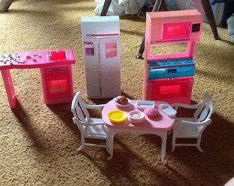 Barbie kithchen