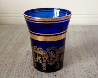 "2.75"" Morrocan style vase"