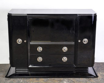 Beautiful Art Deco Credenza