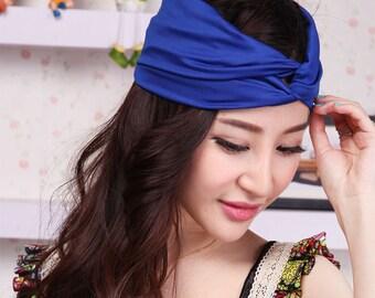 Yummy head band - (391043036276-EB-Dark blue)